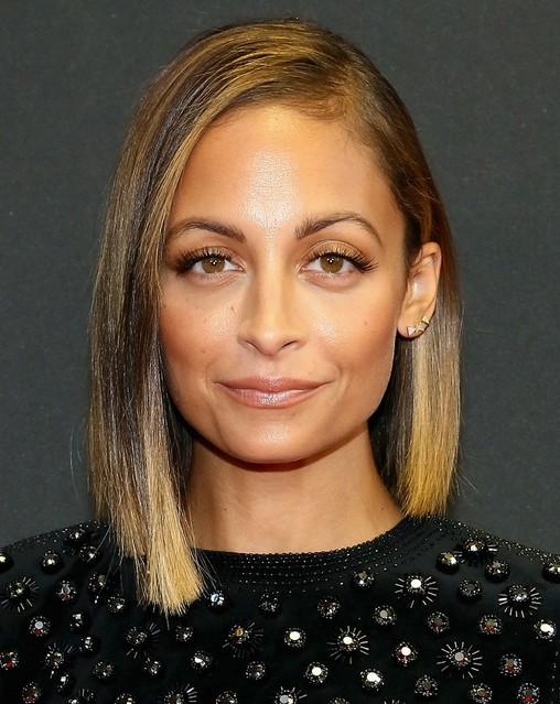 2014 Nicole Richie Hair Styles: Straight Bob Haircut