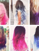 2014 Ombre Hair Color for Girls