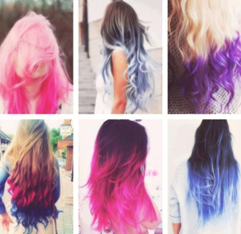 Girl hair color styles