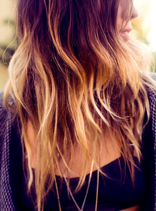 2014 Ombre Hair Color for Long Hair