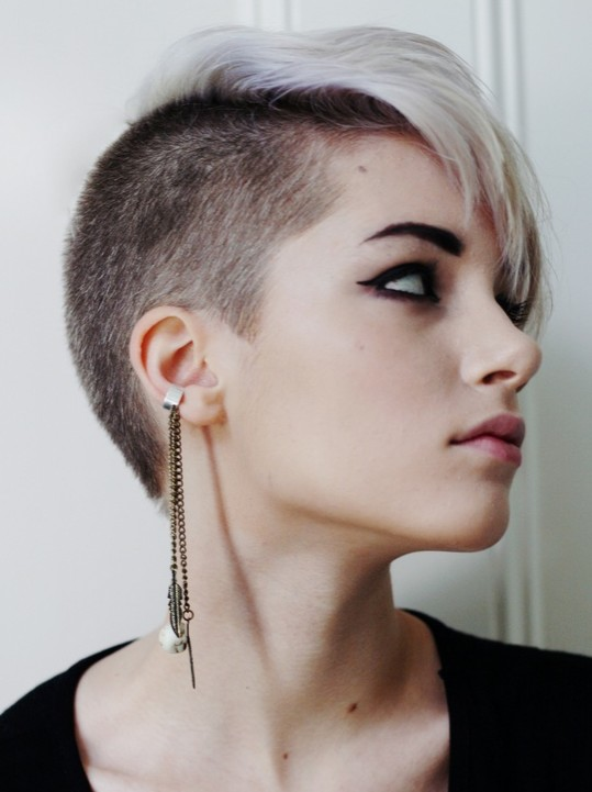 Celebrity pixie hair cut