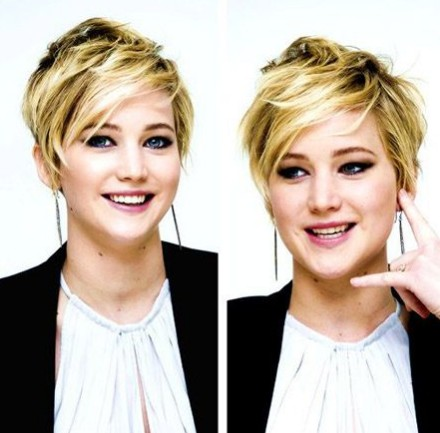2014 Pixie Haircuts: Messy Short Blonde Hairstyle