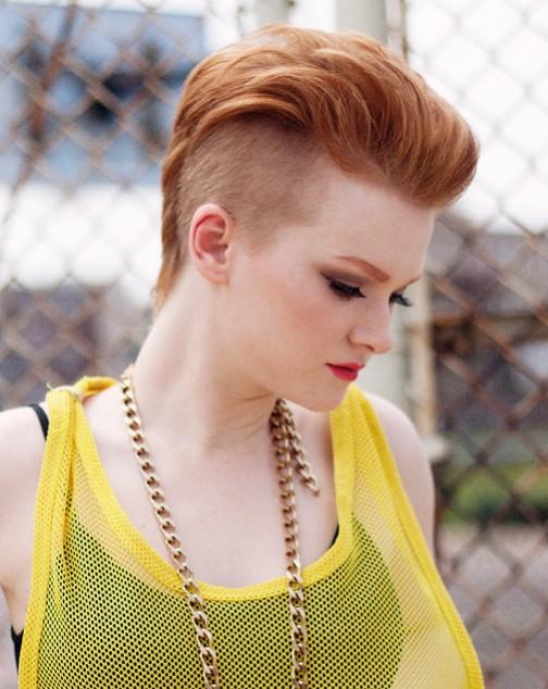 2014 Pixie Haircuts: Modern Faux Hawk