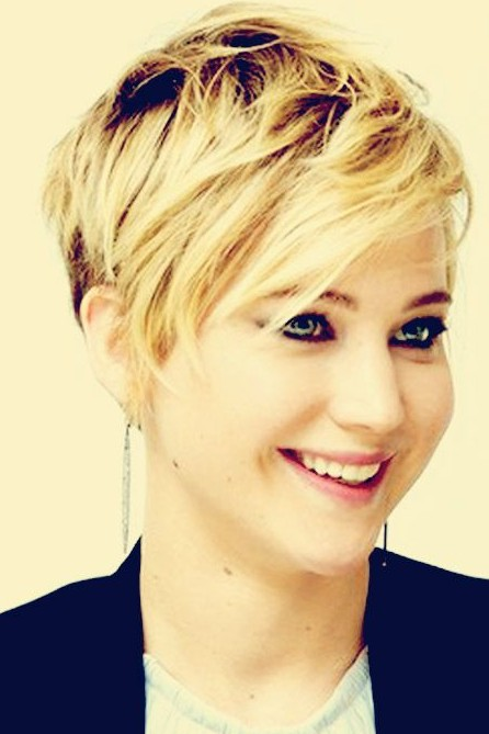 2017 Short Haircuts For Women Cute Pixie Hair Style
