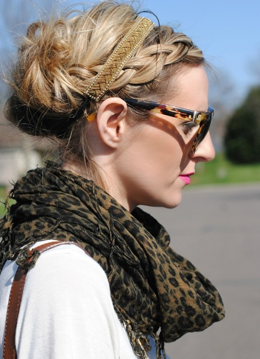2014 Updo Hairstyles: Beautiful Braided updos