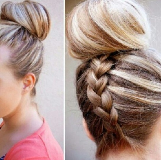 Updo Hairstyles: Easy stylish updos for long hair / Source