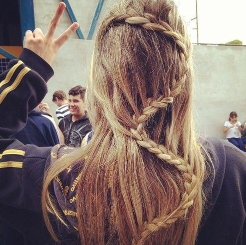 Braided Hairstyles: Snake Braid Ideas