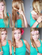 Cute Braided Hairstyle Tutorial for Girls: How to Fishtail Braid