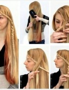 Easy Braided Hairstyles Tutorial: Side Braid Ideas