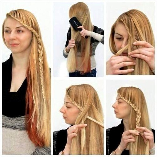 easy braided hairstyles tutorial side braid ideas