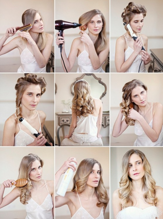 Hairstyles To Do Yourself Romantic Long Wavy Hairstyle
