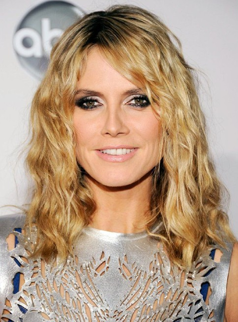 Heidi Klum Hairstyles: Blonde Hair