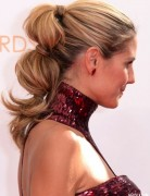 Heidi Klum Hairstyles: Ponytail Hairstyle Ideas