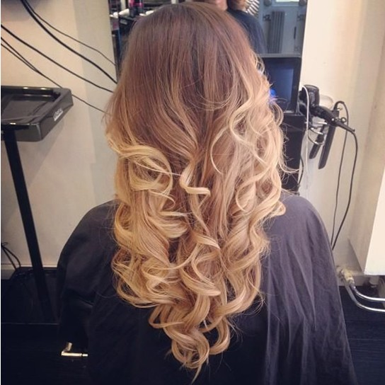 Long Curly Hairstyles 2014: Ombre Hairstyles for Girls