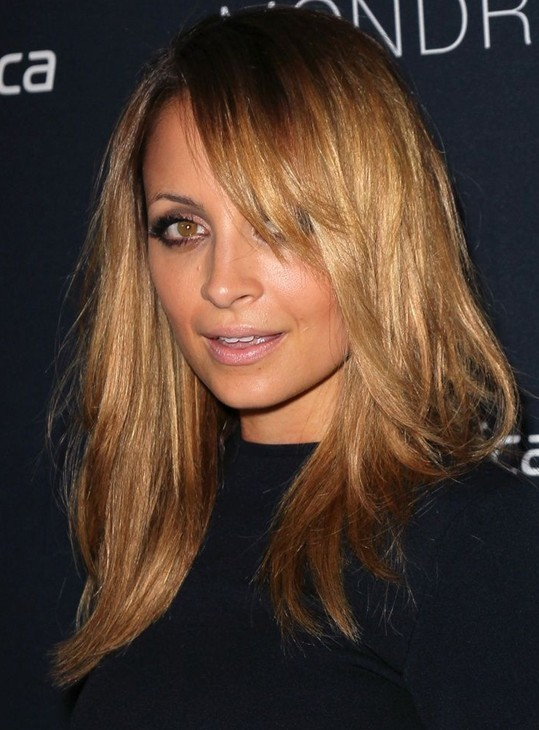 Nicole Richie Hairstyles: Blonde Hair