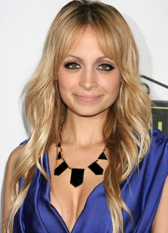 Nicole Richie Hairstyles: Cute Long Hair