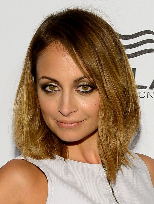 Nicole Richie Hairstyles: Shoulder-length hair for Women