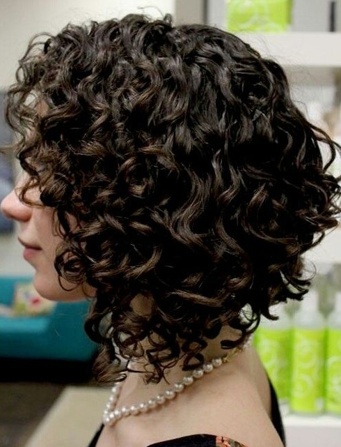 Trendy Short Hairstyles: Bouncy Curls for Short Hair