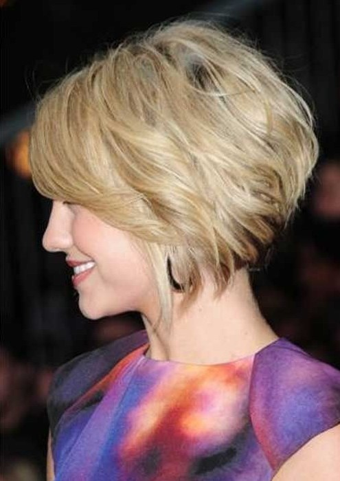 Trendy Short Hairstyles: Choppy Bob Haircut