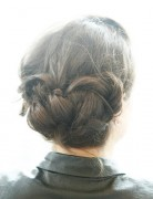 Updo Hairstyles Tutorials: Big Braid Bun Updos