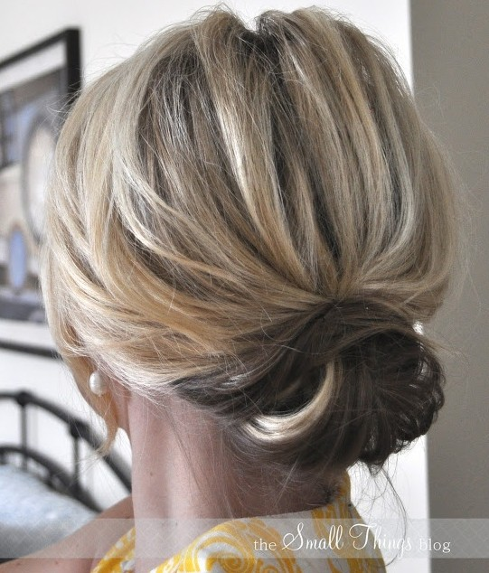 10 Updo Hairstyles for Short Hair | PoPular Haircuts