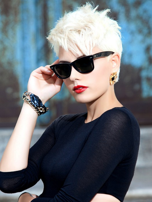chic pixie haircuts razored hairstyles for short hair this razored