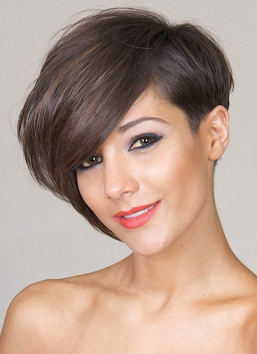 Short Hairstyles for Winter: Asymmetric Bob Cuts /pinterest