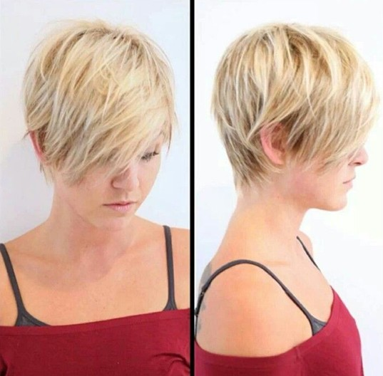 Short Textured Hairstyles For