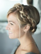 Braided Crown Hairstyle Tutorial: Cute and Easy Hairstyles for the Holidays