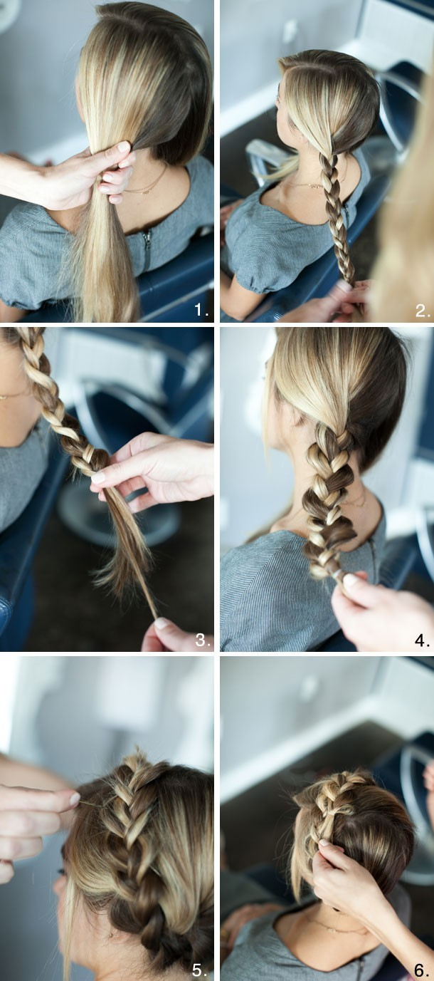 Braided Crown Hairstyles Tutorial: Cute and Easy Hairstyle for the Holidays