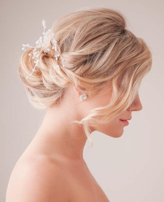 Hairstyle Ideas For Wedding: Bridal Updo Hairstyle Tutorial: Wedding Hairstyles Ideas