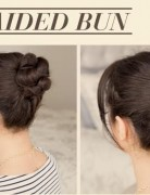 Cute Braided Bun Hairstyle Tutorial