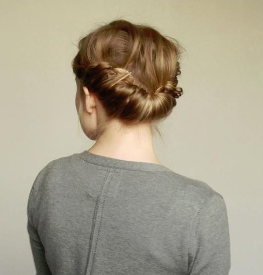 Double Braid Hairstyles Tutorial Updos For Medium Hair Popular