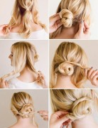 Easy, Chic Updo Hairstyle Tutorial