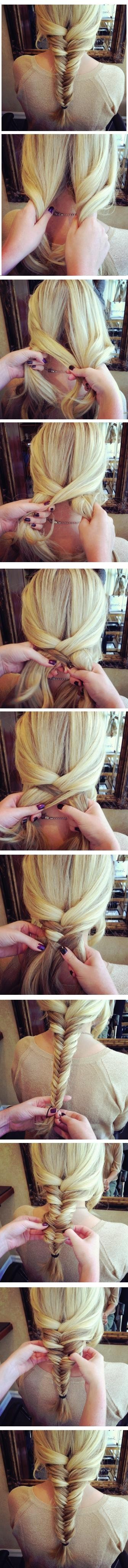 Fishtail Braid Tutorial: Cute Hairstyles for Girls