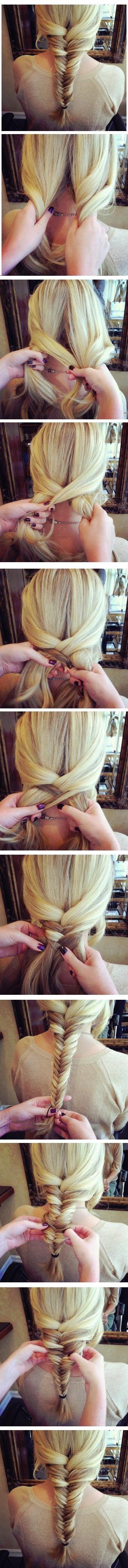 Fishtail Braid Tutorial: Nette Frisuren für Mädchen