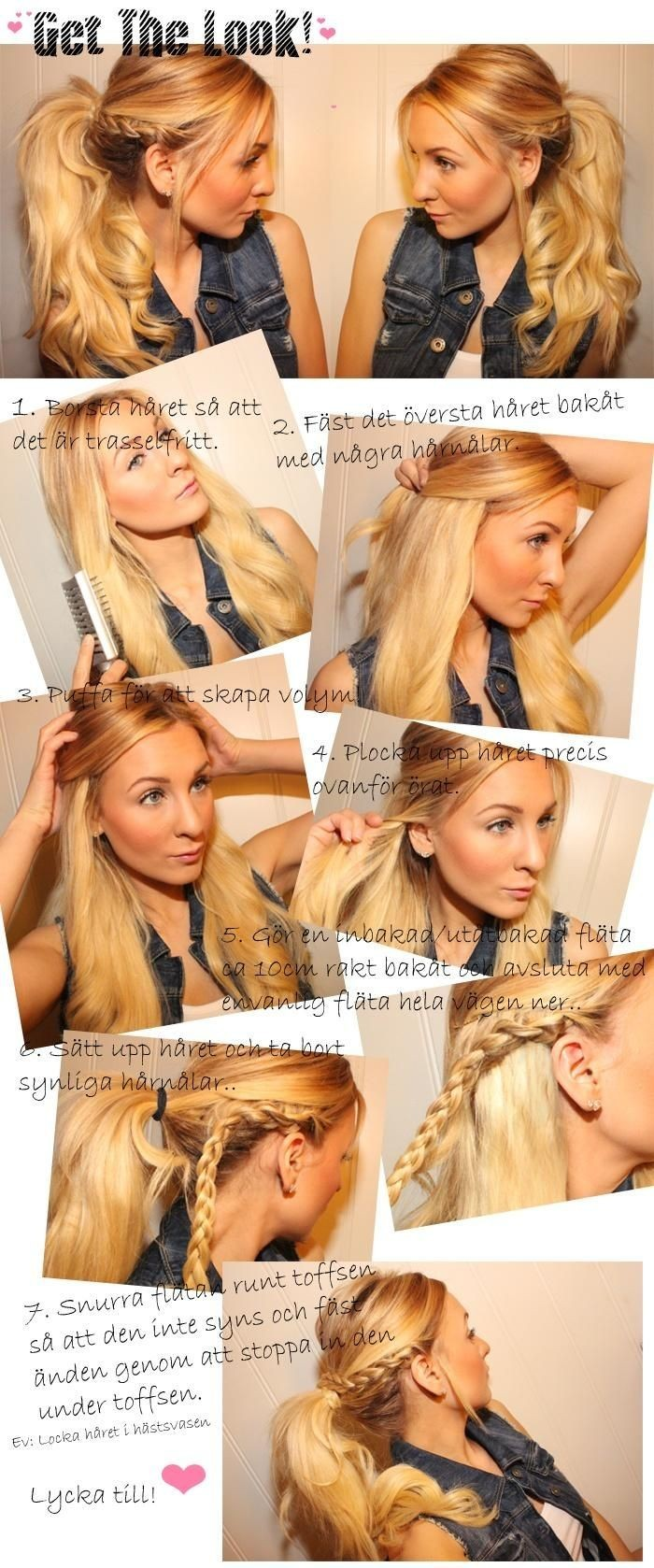 Super Braided Ponytail Hairstyles Tutorial Braids Hairstyle Inspiration Daily Dogsangcom