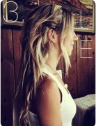 Long Hair Tutorials: Cute Messy Beach Hairstyles