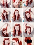 Retro Ponytail Hairstyle Tutorial