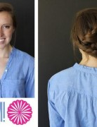 Side Braided Hairstyles Tutorial: Zig Zag Braid Designs