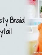 Summer Hairstyles Ideas 2014: Twisty Braid Ponytail Hair Style Tutorial
