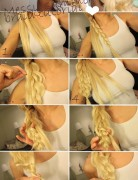 Summer Hairstyles for Long Hair: Messy Side Braided Hairstyle Tutorial