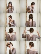 Twist Braid Updo Hairstyle Tutorial: Maiden Hairstyles