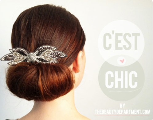 Twisted Flip Bun Updos Pictures Tutorial Easy Updo