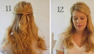 Twisted Half Up Half Down Hairstyle Ideas Step By Step Popular