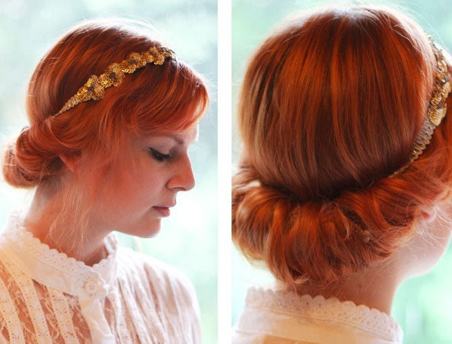 Vintage Updo Hairdo Tutorial: Easy Updo Hairstyles for Prom