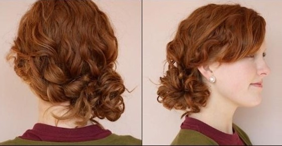 Casual Updos Tutorial Braided Side Bun Hairstyles