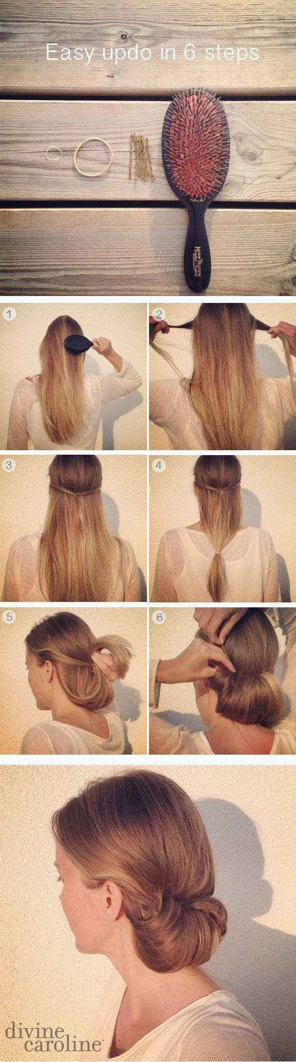 1 Minute Hairstyles for Long Hair