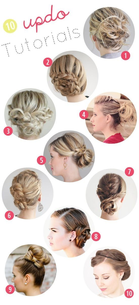 10 Trendy Prom Updo Hairstyles Tutorials