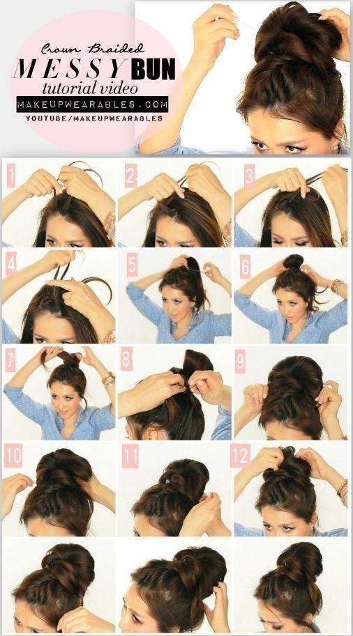 Fantastic 15 Cute Hairstyles Step By Step Hairstyles For Long Hair Short Hairstyles Gunalazisus